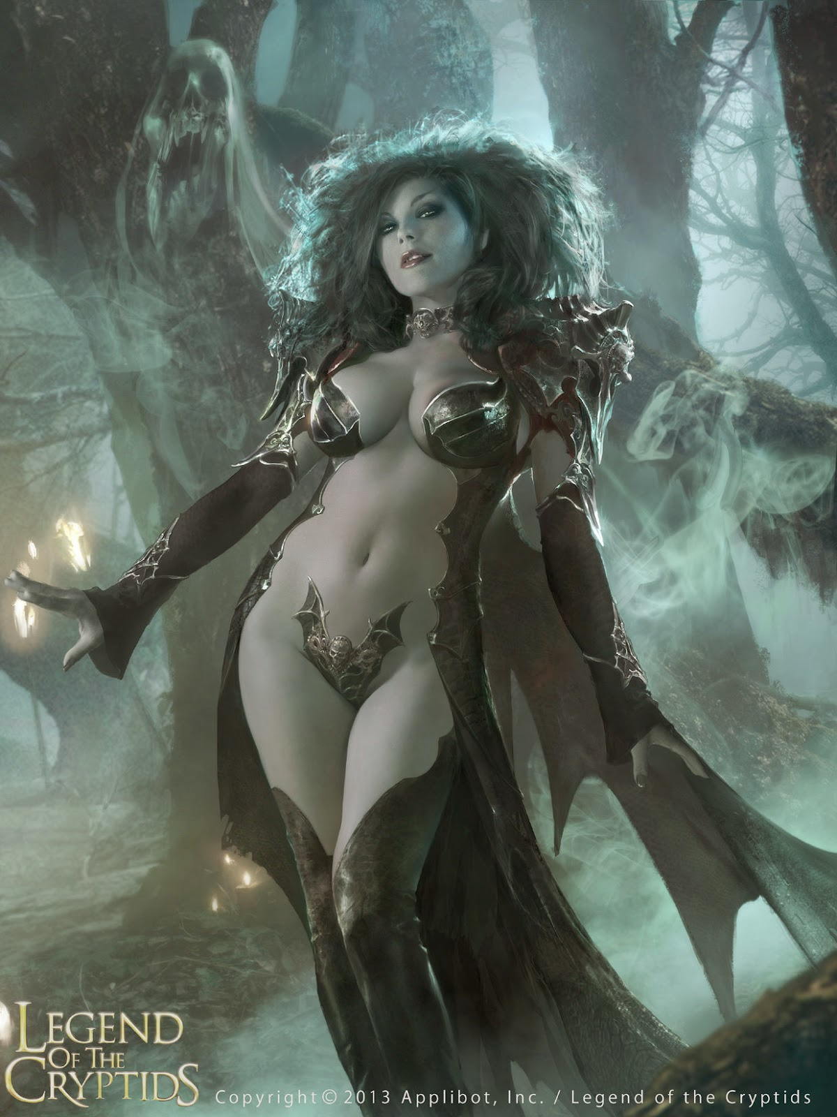 Legend of the Cryptids - Dark Queen Guinevere