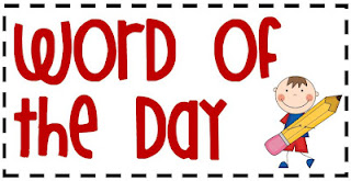 having a word of the day eliminates the common problem of students