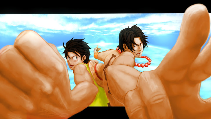 Luffy and Ace 02