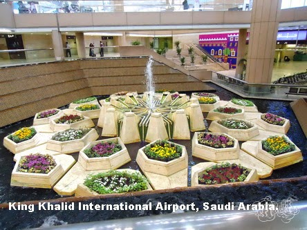 King Khalid International Airport, Riyadh, Saudi Arabia