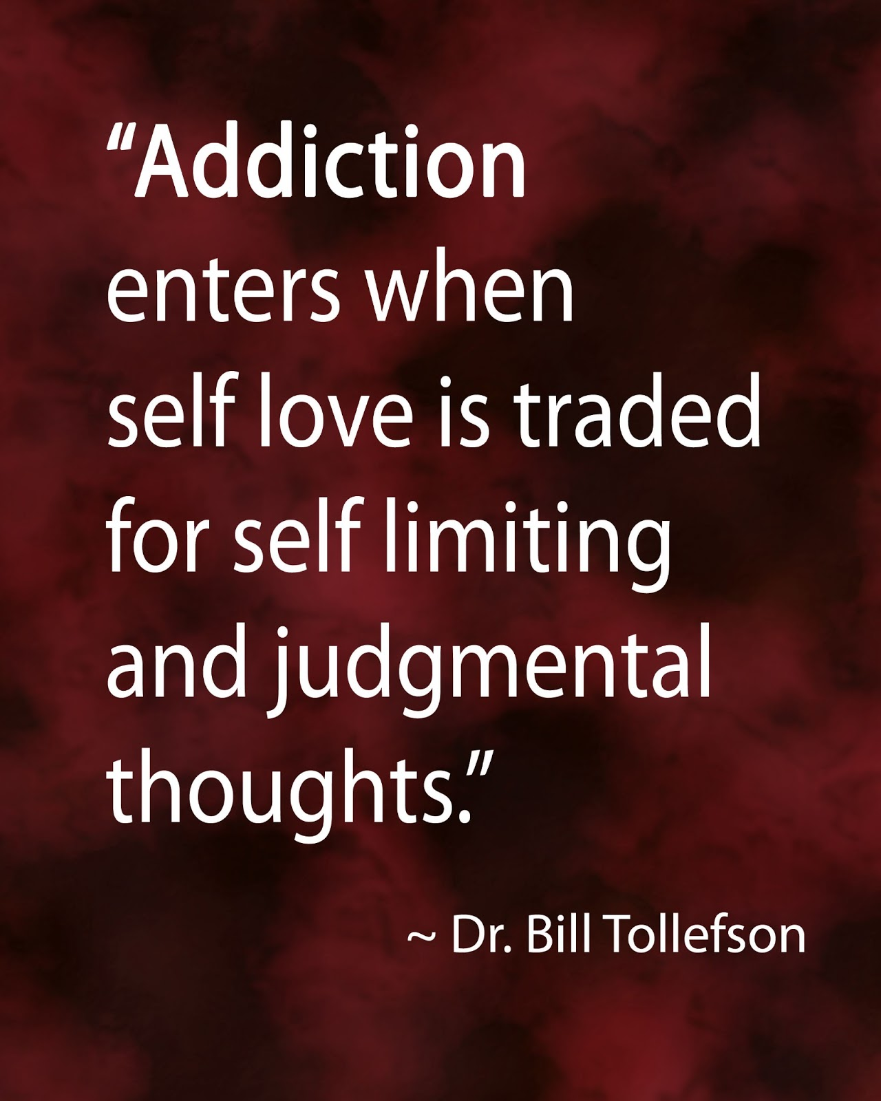 addiction recovery values