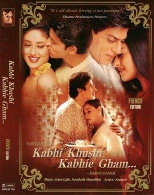 Kabhi Khushi Kabhie Gham (2001) Movie Poster