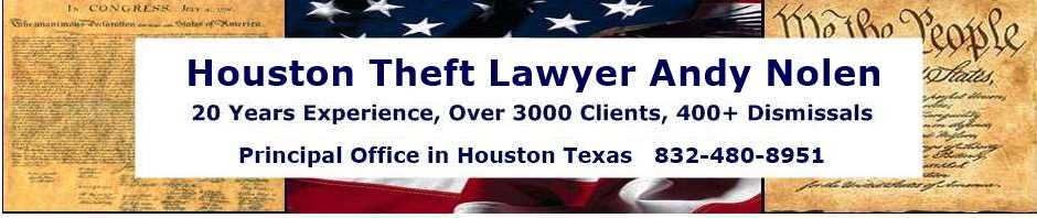 Houston Theft Lawyers | Harris County Defense Attorneys
