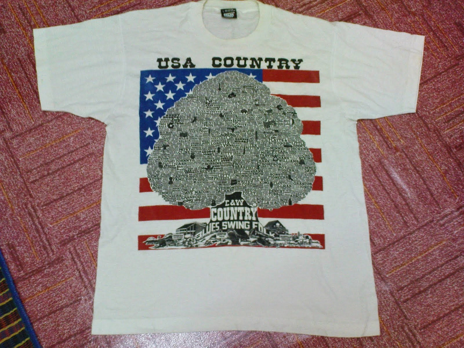 USA country band 50/50
