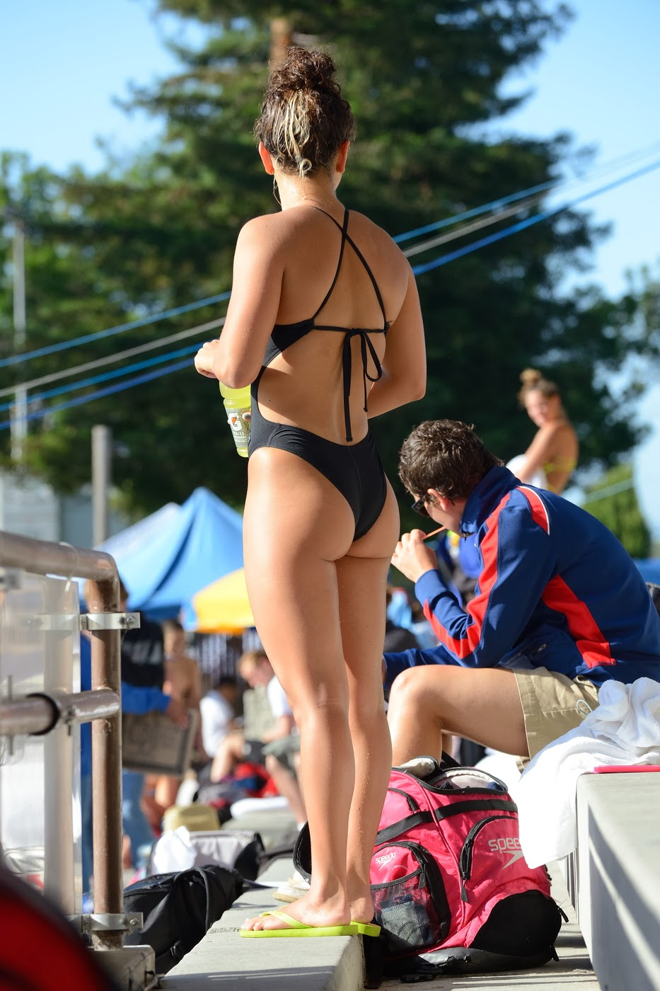 girls swim team ass