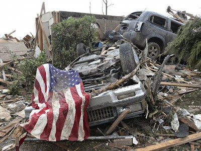 Ini Arti Skala Kekuatan Tornado Oklahoma, badai amerika serikat oklahoma, skala fujitsu EF4 dan EF5. tornado oklahoma picture photo.