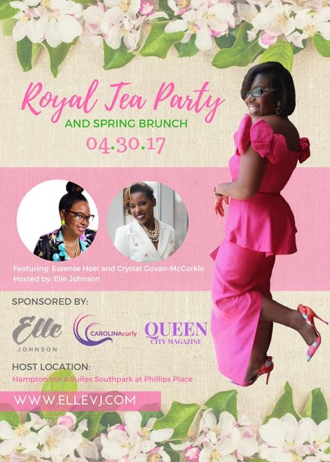 Royal Tea Party + Spring Brunch