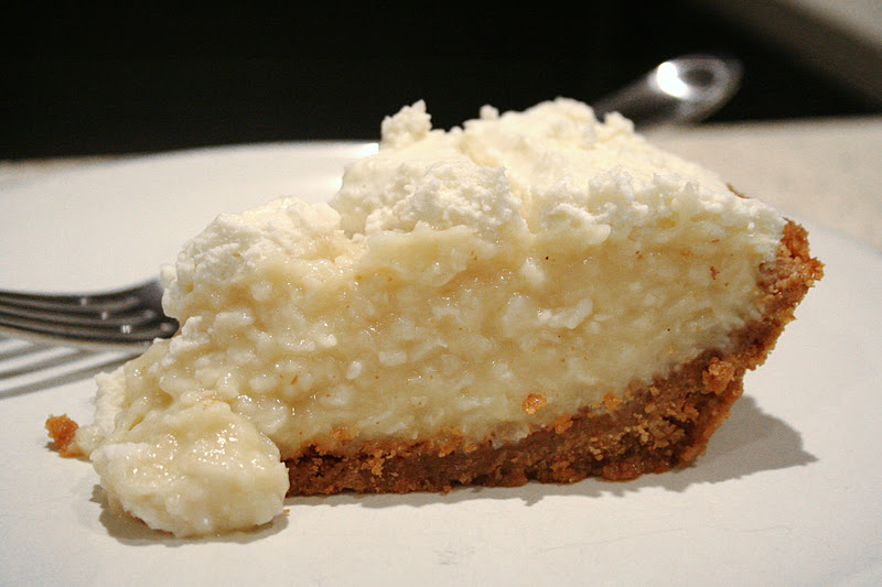 Bake Me Blush: Coconut Cream Pie Sent From Heaven