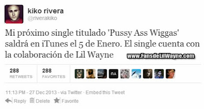 kiko rivera lil wayne single cancion