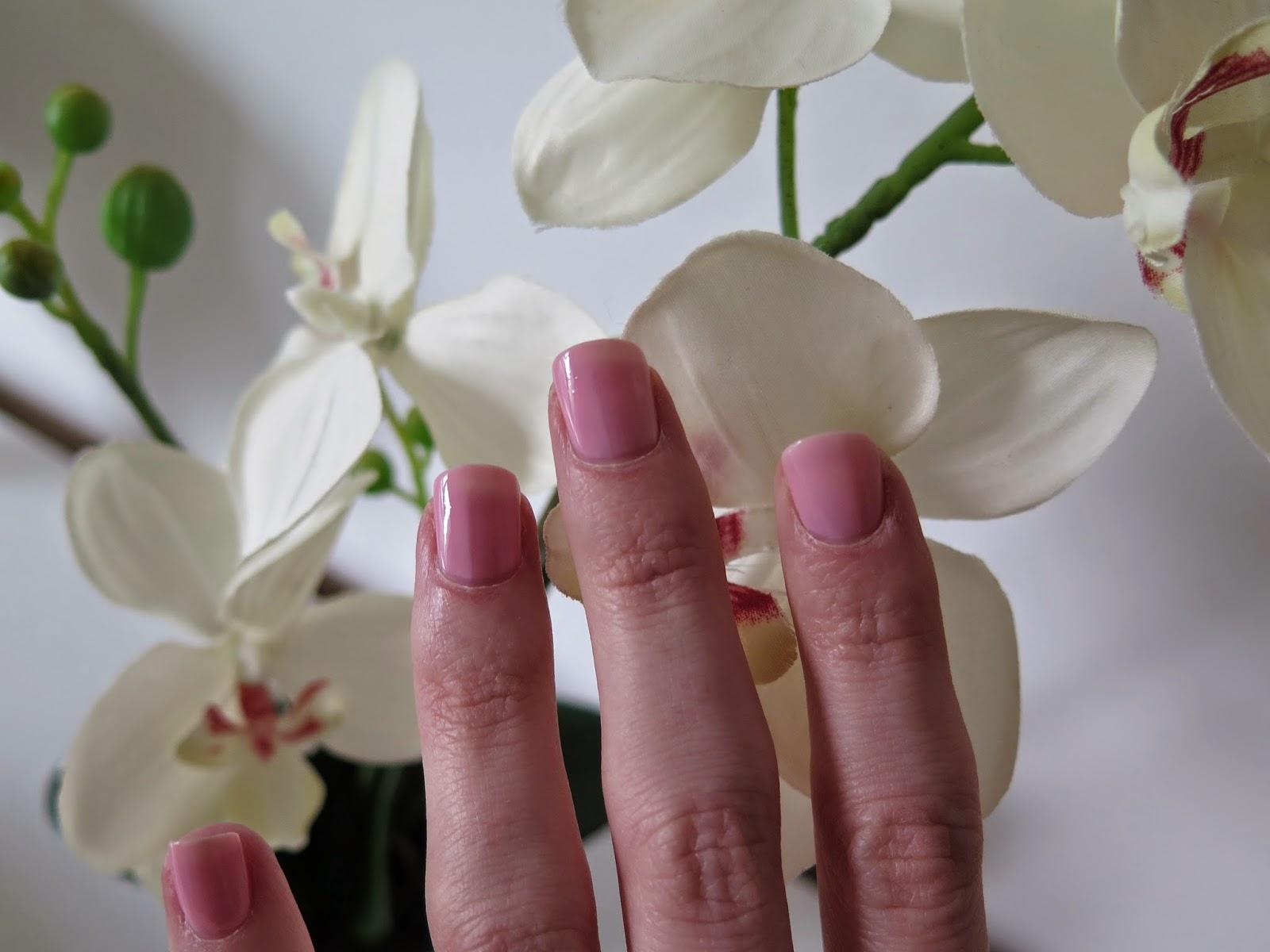 OPI pink nails
