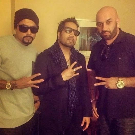 Mika Singh , Bohemia and Kalikwest - pesa nasha pyar - the punjabi rapper - the punjabi rap star