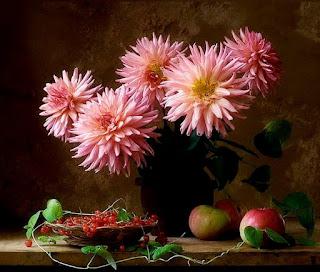 Flores Rosas Rojas Cuadros