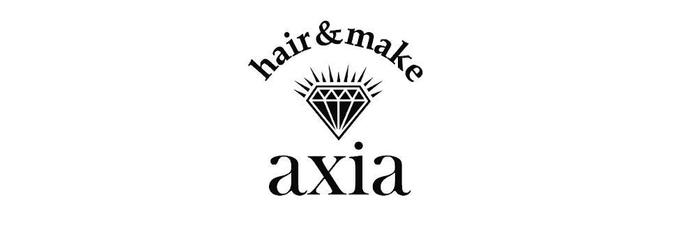 福岡県行橋市の小さな隠れ家美容室 hair&make  axia(アクシア)