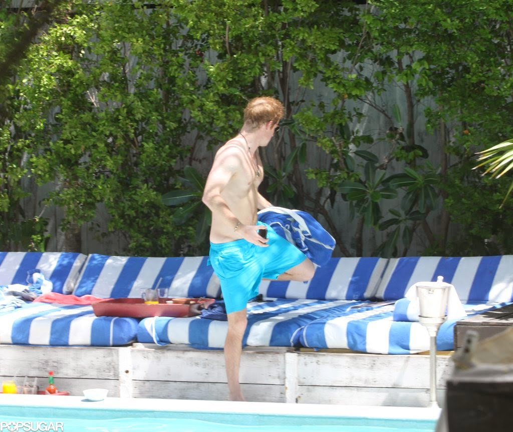 Celeb Diary: Prince Harry Was Spotted Stateside At Miami's