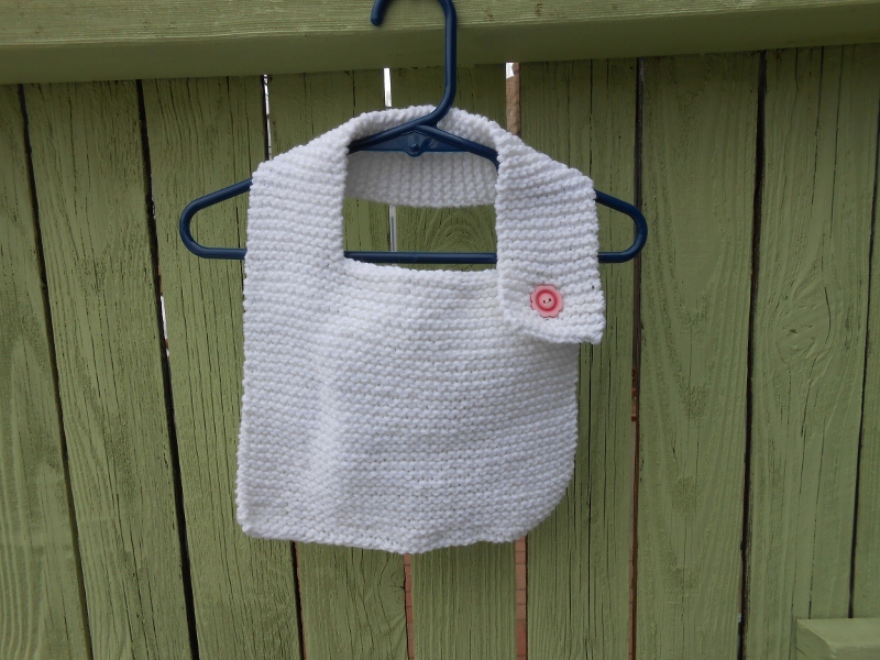 Knitting Patterns Baby Bibs images