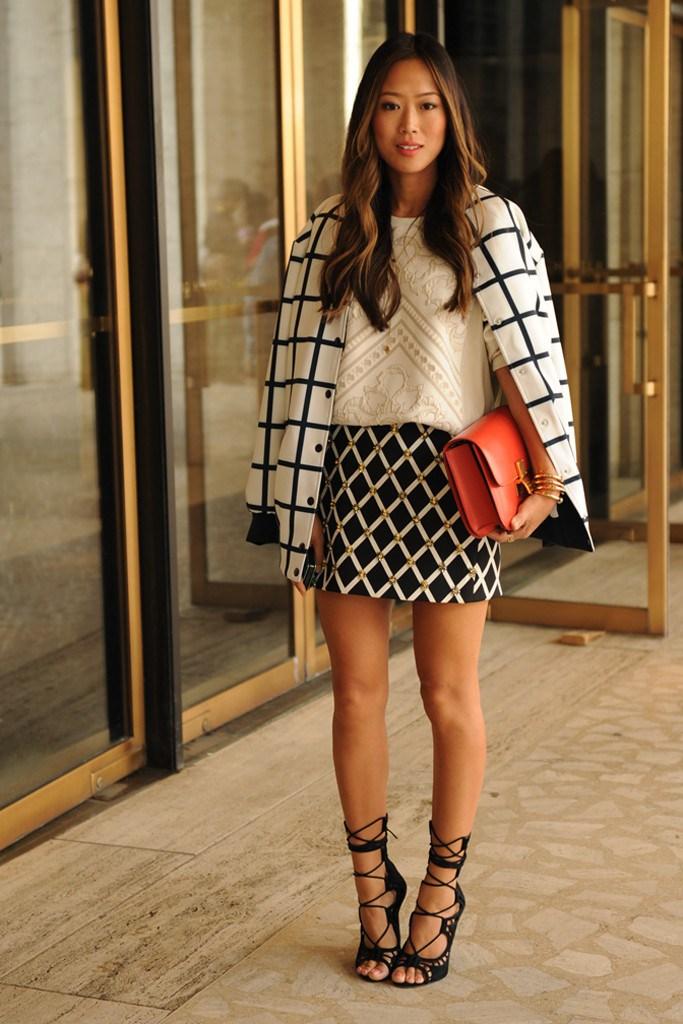 Victoria s style secrets new york fashion week street style