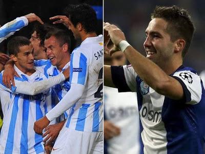Porto vs Malaga