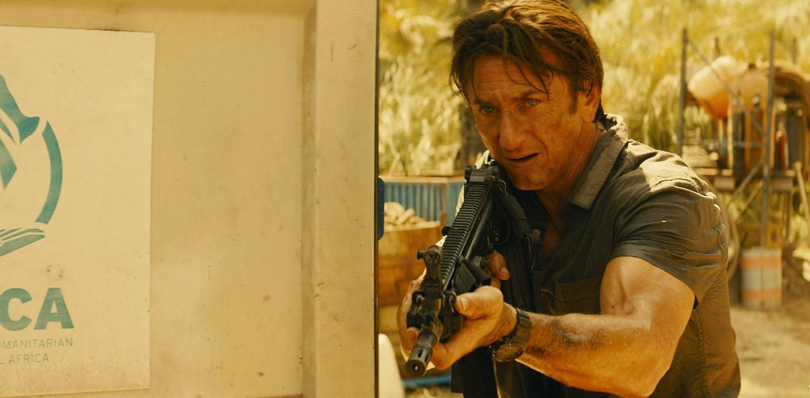 Sean Penn entra em ação no trailer de The Gunnan, com Javier Bardem e Idris Elba