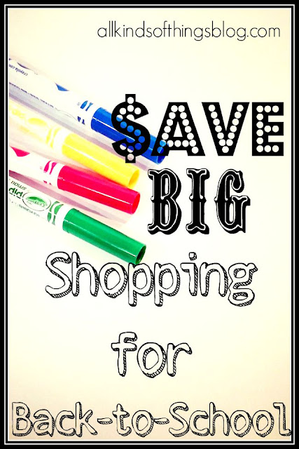 Save Big Shopping for Back to School