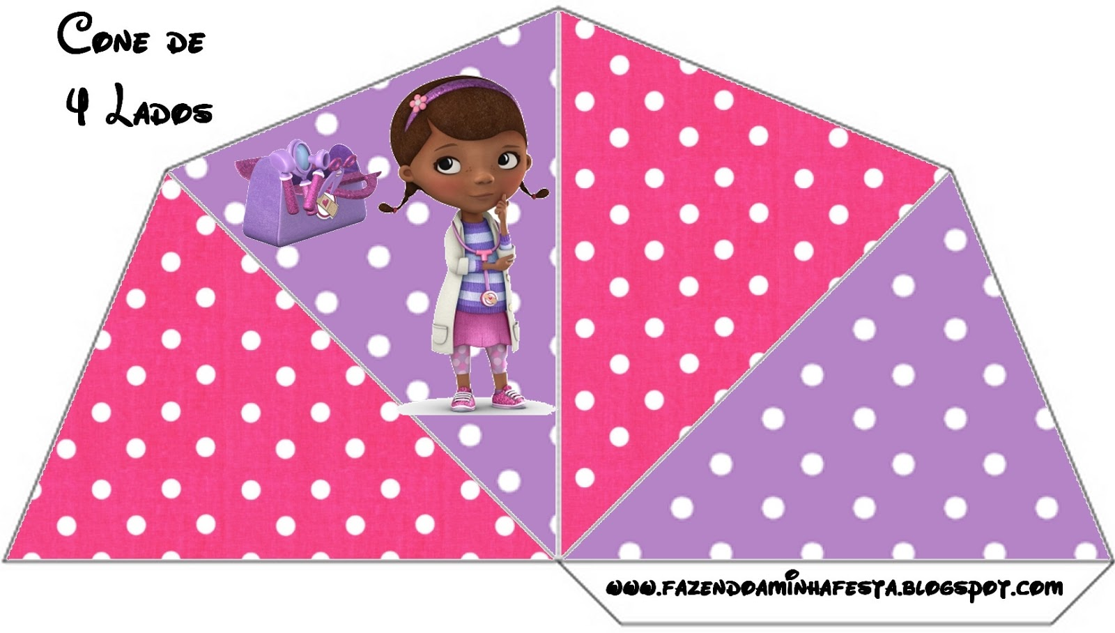 This is an image of Luscious Free Doc Mcstuffins Party Printables