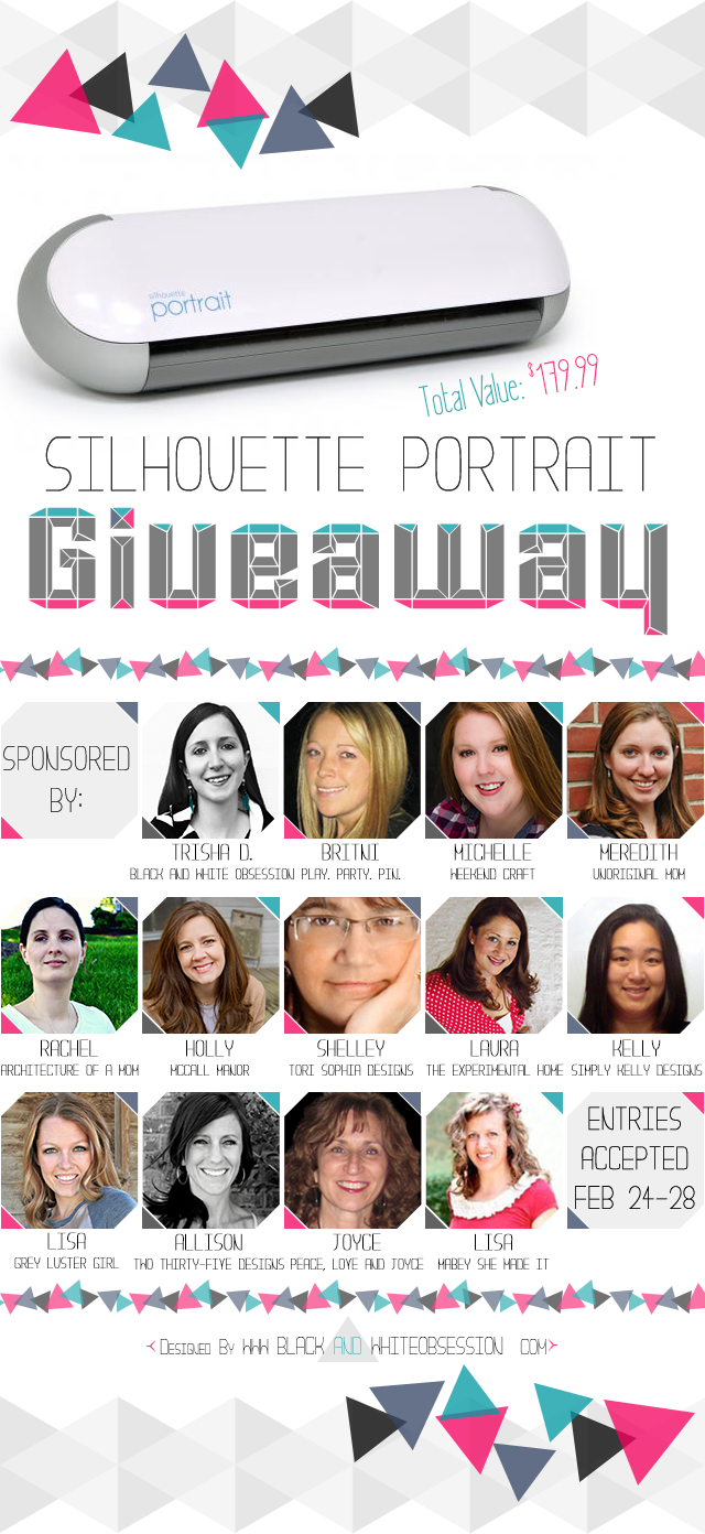 Black and White Obsession's February Silhouette Portrait Giveaway   www.blackandwhiteobsession.com