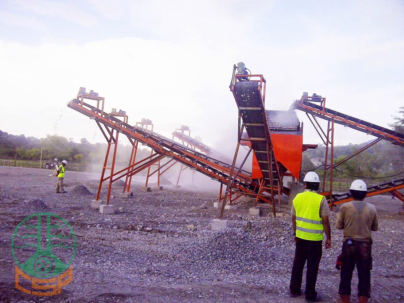 Project CSP Stone Crushing Plant 100-120 Tph PT Hutama Karya Wilayah 7, Oe Cusse - Timor Leste (06)