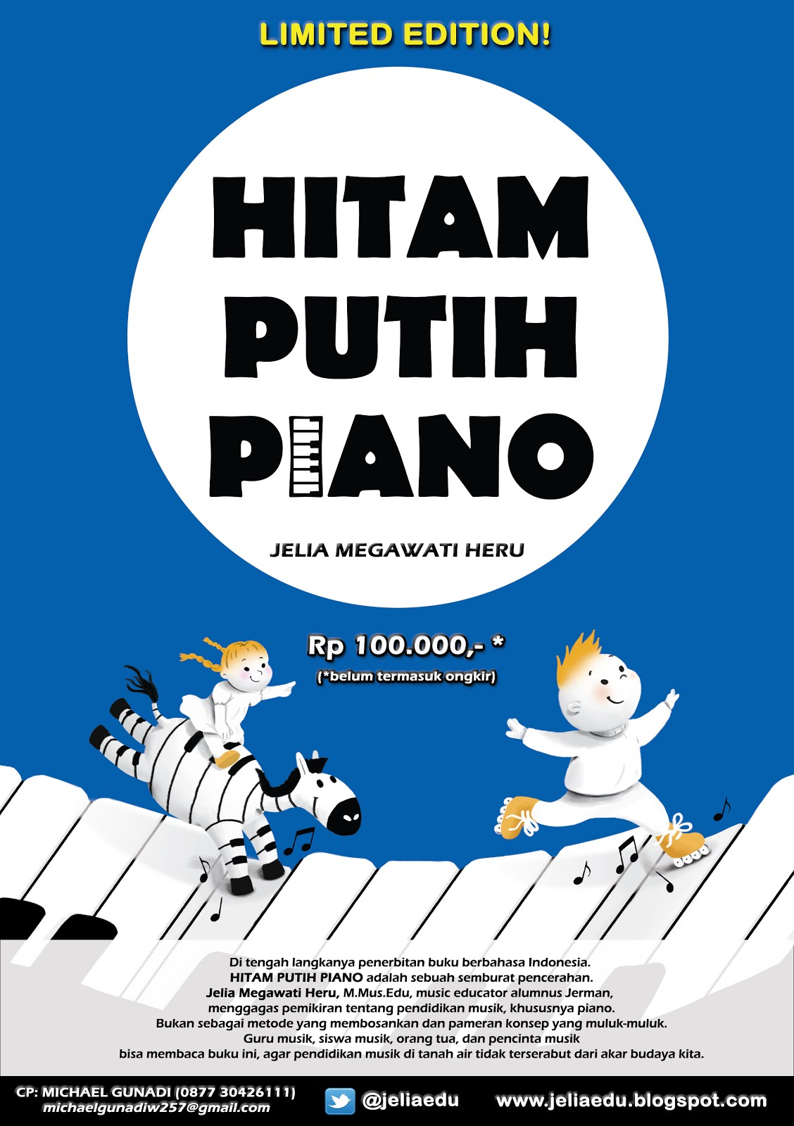 "BEST SELLER ""HITAM PUTIH PIANO"" @ Tokopedia.com"