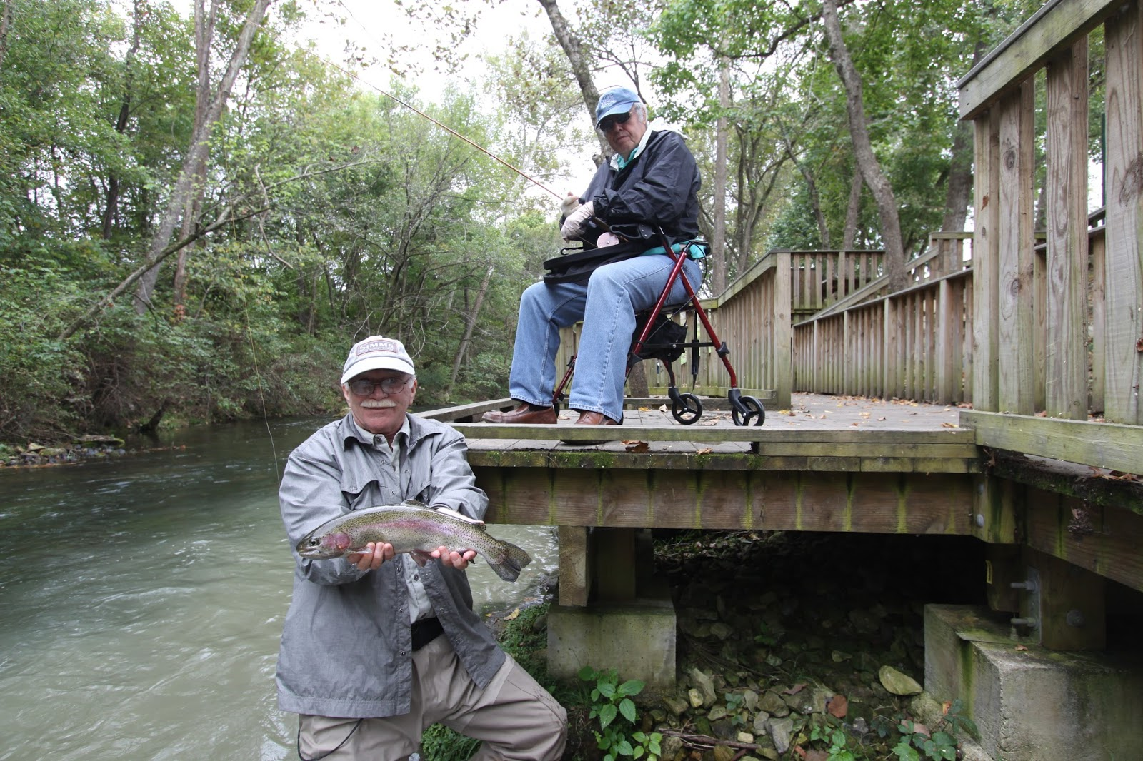 A fly fishing report and blog for the white and norfork for Blue creek fishing report