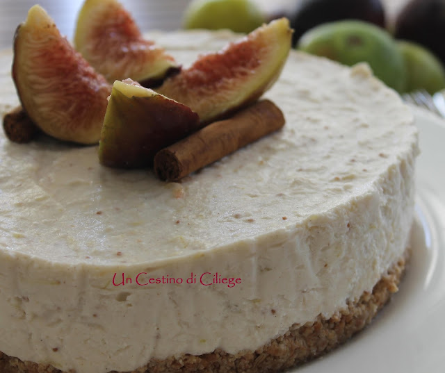 cheesecake ai fichi e cannella!