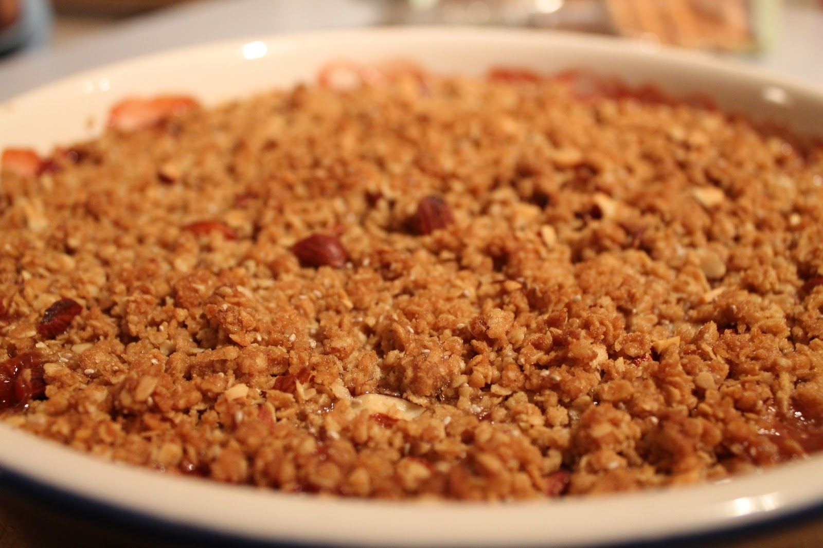 ... for the perfect crumble recipe look no further this crumble from