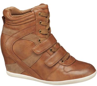 sneakers con cuña Deichmann