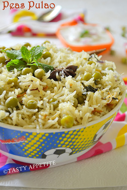 South indian variety rice recipes healthy lunch box recipes kids peas pulao mutter pulao forumfinder Images
