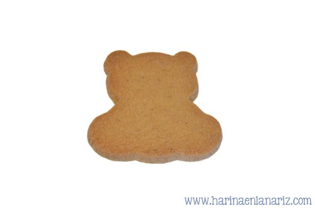 galleta con forma de osito