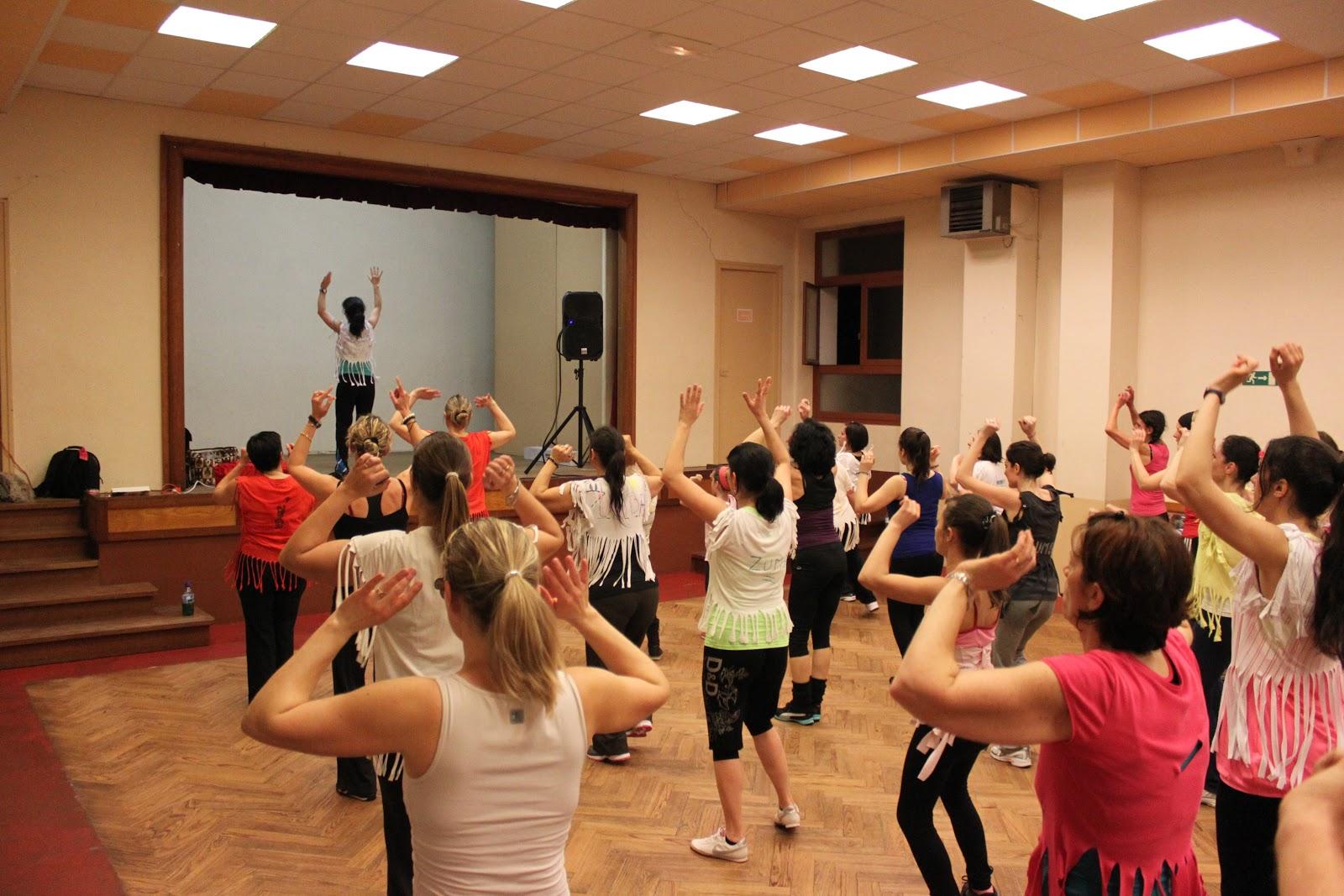 exemple de danse zumba