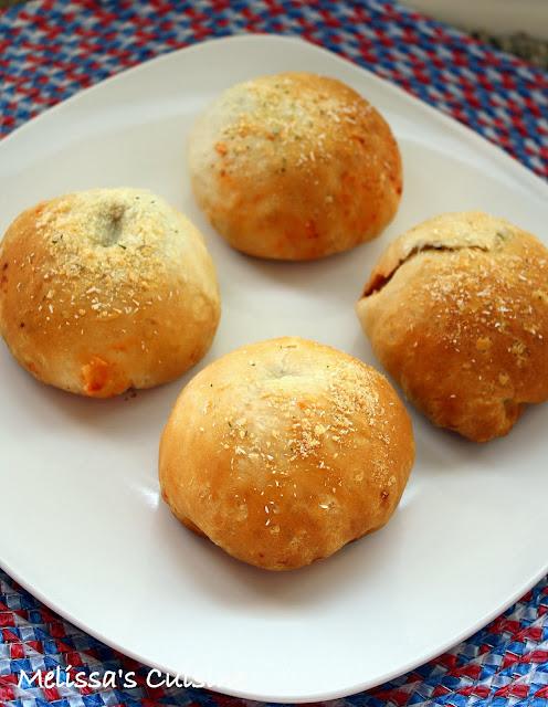 Melissa's Cuisine: Meatball Stuffed Rolls