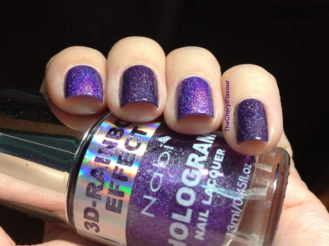 Nabi Holographic Dark Purple vs A England Lady Of The Lake