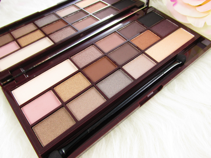 review: I Heart Makeup - Death by Chocolate Eyeshadow Palette - 22g - 9.99 €
