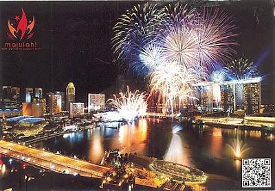 Majulah Singapura (malaiisch für Vorwärts Singapur) ist die Nationalhymne von Singapur