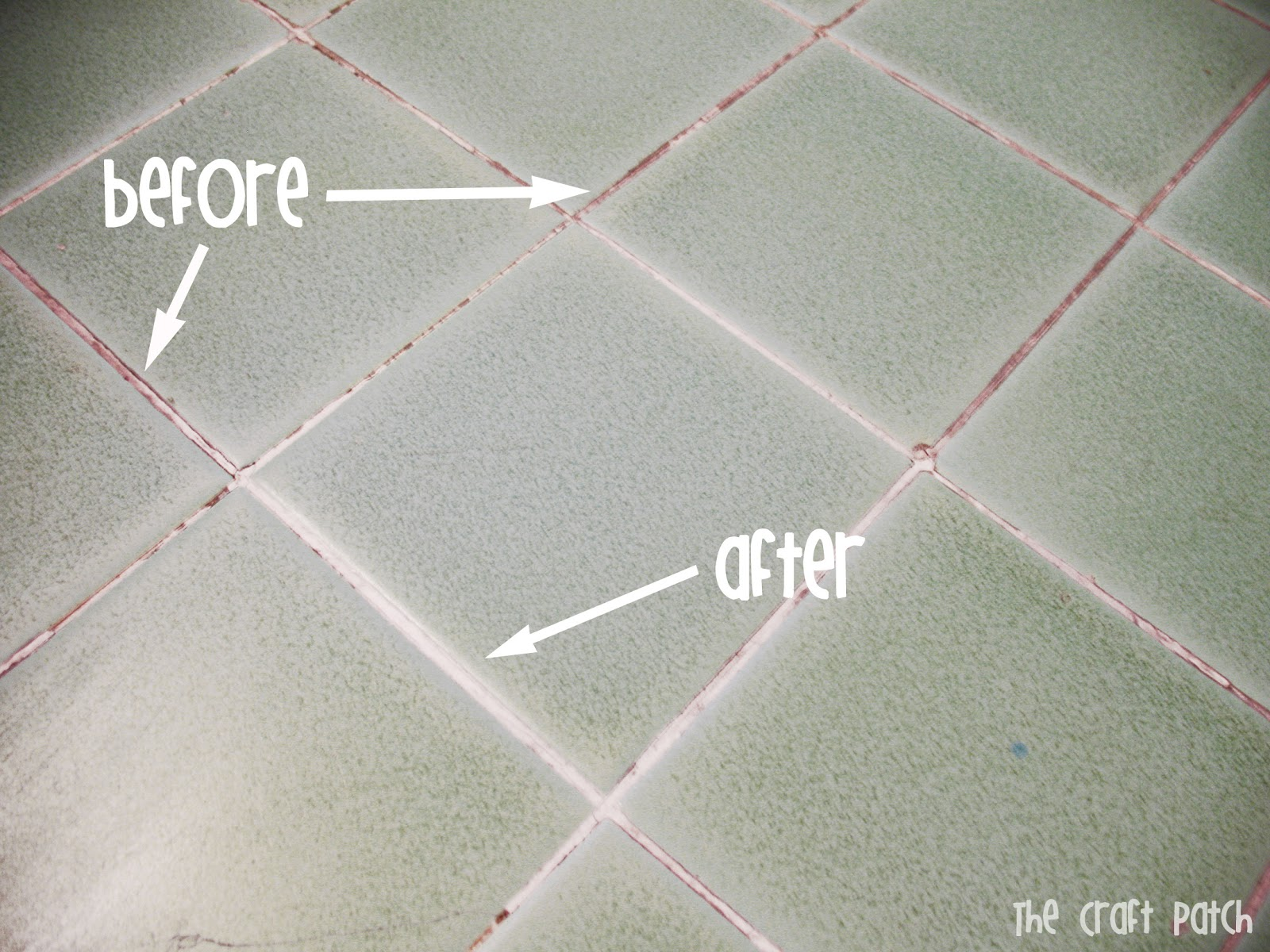 The craft patch pinterest tested grout cleaner for Grout cleaner