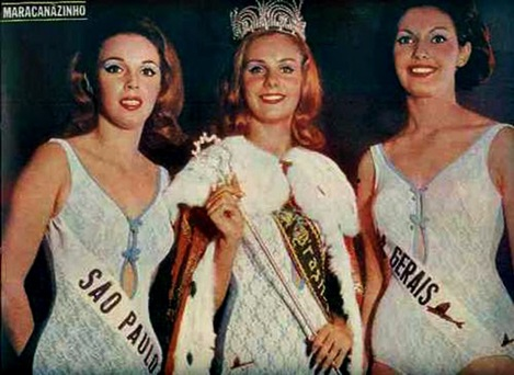 1965 - Top Tres Miss Universo Brasil 1965