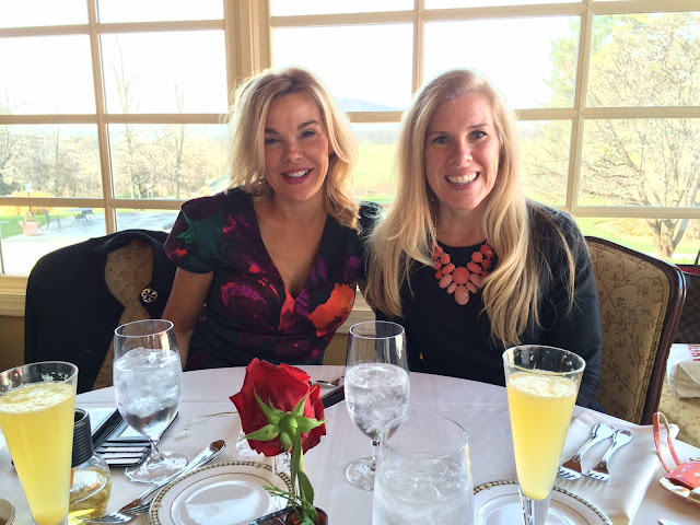 maryland preppy blogger holiday brunch at comus inn