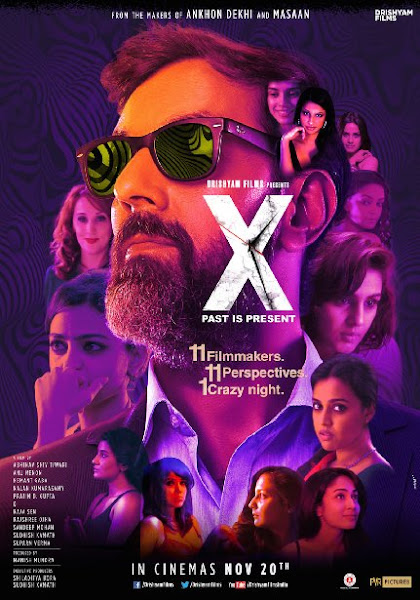 Poster Of X Past Is Present 2015 480p Hindi HDRip 1CDRip