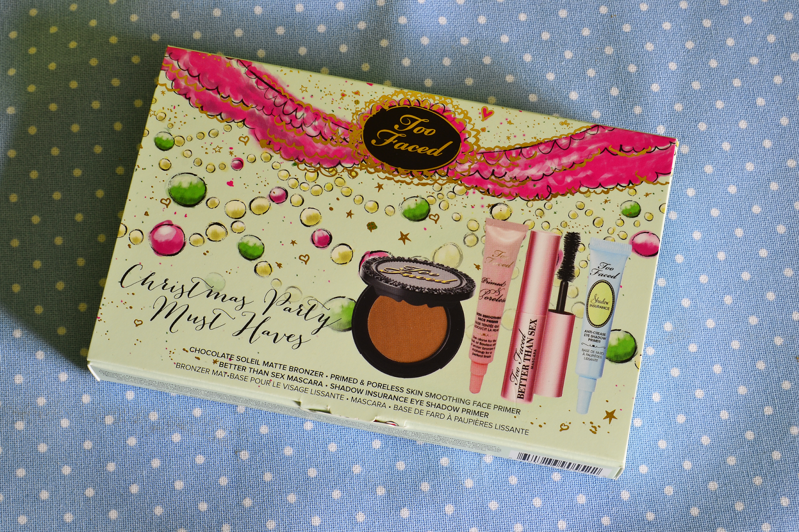 Too Faced, Christmas Party Must Haves