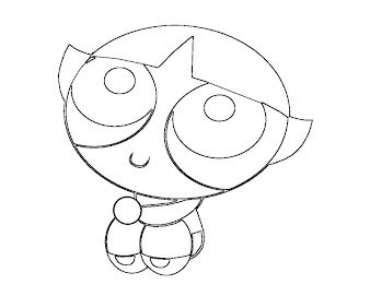#1 Buttercup Coloring Page