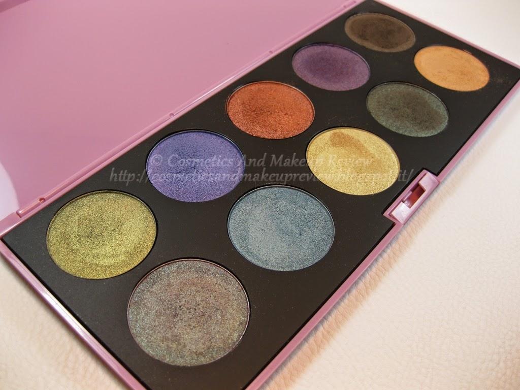 Neve Cosmetics - Palette Duochrome (2014) - descrizione
