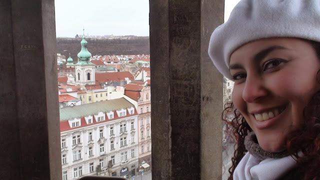 Plaza de Praga, Torre de Praga, Praga en Invierno, Liseth Fattorello