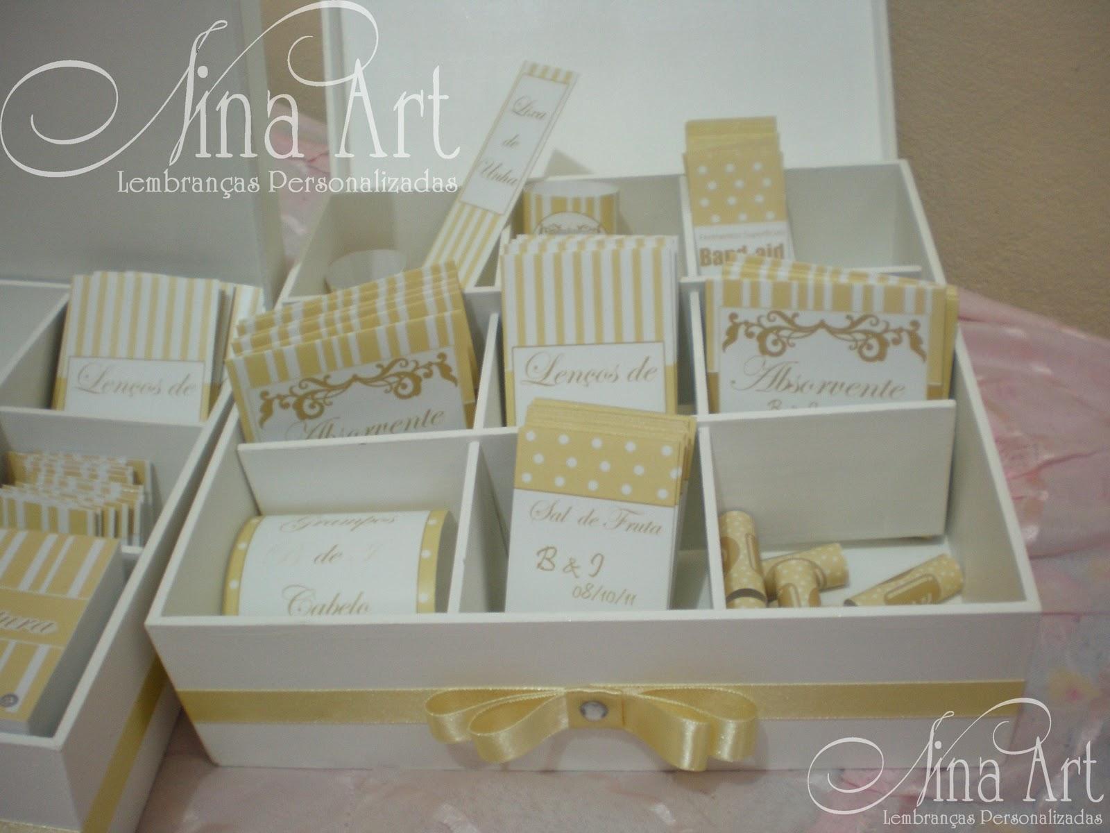 Nina Art Lembranças Personalizadas: Kit Toalete para Casamento #7B6E49 1600 1200