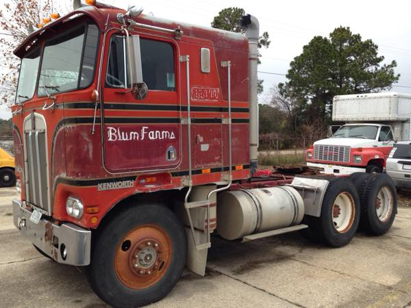 1978 Kenworth K100 Cabover Tractor Truck Auto Restorationice