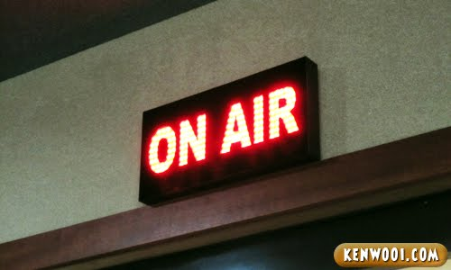radio station on air