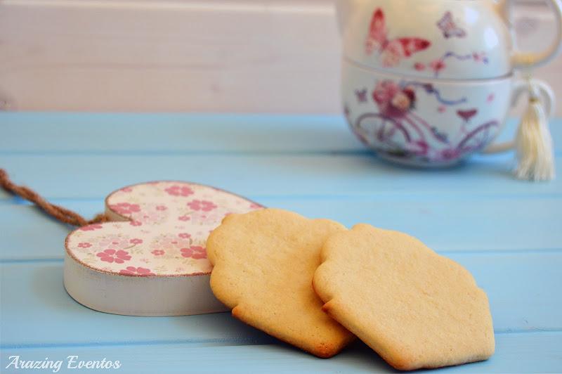 galletas mantequilla - fondant